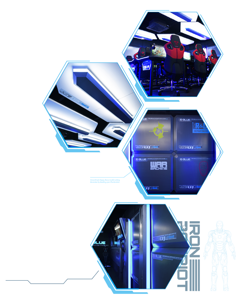 Advantages of E-Blue PC. Gaming Arena