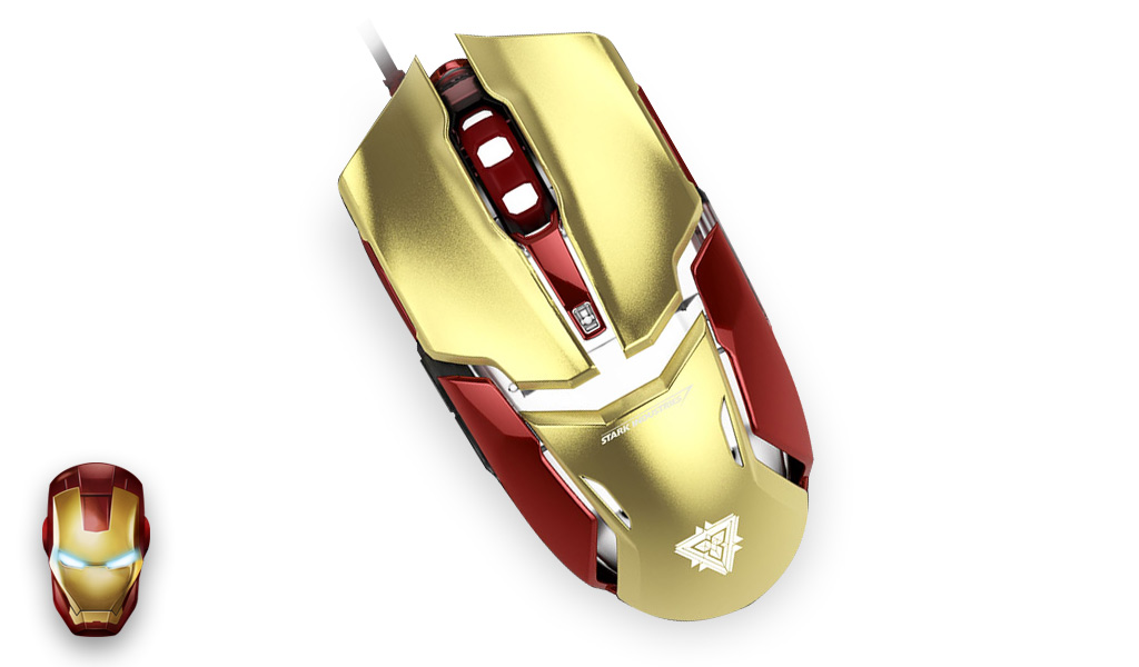 IRONMAN WIRED MOUSE
